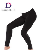 Wholesale Wholesale Women Pants China - Free shipping Adult ankle length dance pant A2527 discount ballet dance pants dancing supplier China