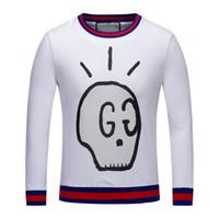 Wholesale Mix T Shirts - New Men Medusa Fashion Sleeve Turtleneck Sweater Print Casual Men Sweater Men Mix Long Sleeve T-Shirt M-3XL Free Shipping