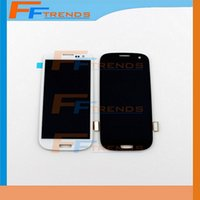 Wholesale Galaxy S3 Test Lcd - for Samsung Galaxy S3 i9300 LCD Touch Screen & Digitizer Assembly i9305 L710 R530 i535 T999 i747 100% Test Original LCD Top Quality