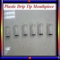 Wholesale E Cig Colorful - Plastic Drip Tips transparent Colorful Mouthpiece Plastic Drip Tips for EE2  Vivi Nova  DCT 510 for ego starter kit e cig
