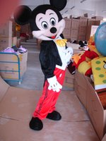 Wholesale Suit Canvas - Mickey Mouse Mascot Costume Adult Size Fancy Dress Suit Free Shipping