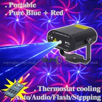 Gros-SUNY Mini distance ManualSound active Bleu Rouge BR Multi-Modèles d'étape de laser de Noël projecteur DJ Afficher Wedding Dance Bar