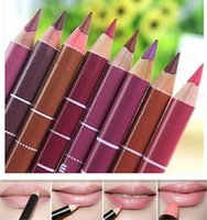 Wholesale make up lip liner for sale - Group buy Fashion Waterproof Lip Liner lady Long Lasting Beauty Tools Lip Make up Pencil Professional