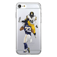 Wholesale rugby phone case - Shaka Laka rugby 22 26 health Phone shell Clear sports Case For iPhone 6 6S 5.0in 6plus  7 7plus 8 8s plus X Soft TPU silicone back Cover