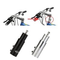 Wholesale Mtb Bicycle Forks - Aluminium alloy Cycling Bike Fork Stem Extender MTB Bicycle Handlebar Riser Head Up Adapter Black Sliver Y0081