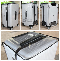 Wholesale Protective Covers For Luggage - Clear Protective Skin Cover Protector for RIMOWA Salsa Sports Luggage ,Best Fits 75 80 Sports fans water proof, dust proof anti-scratch