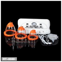 Wholesale Sexy Massager - 2017 Vaccum cupping threapy& massager machine sexy vibrating breast lift massager breast enlargement breast enhancer Suction Pump