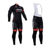 Wholesale Cheap Cycling Pants - cheap BORA ARGON 18 Craft Long Sleeve Cycling Jerseys Bicycle Wear Bora Cycling Clothing(Bib None Bib Pants)Outdoor Equipments S-4XL