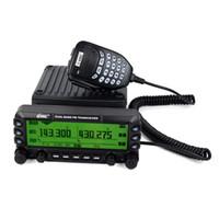 Wholesale Dual Band Radio Car - wholesale Car Radio Walkie Talkie VGC VR-6600PRO 144 (220)* 430MHz 1000CH 50W Dual Band Mobile Ham Radio Comunicador for Car Bus A7179A