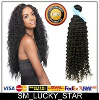 Wholesale Deep Wave 28inch - Wholesale X10 Brazilian Peruvian Malaysian Indian Hair Deep Wave 10-28inch Natural Color Human Hair Extensions Weaves Faster DHL
