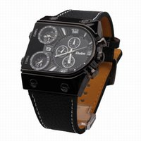 Wholesale Oulm Double - OULM 9315 Sports Watches men luxury brand double movement military casual watch relogio masculino quartz watches
