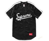 Wholesale Ribbon Clothing Brand - men T-shirt Fog Longline Ribbon suprenan T shirts white Black Brand Clothing Hip Hop Fear Gothic Tshirt Men Tee Kanye West