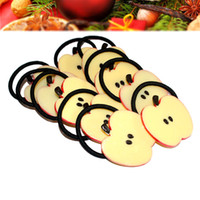 ordering fruit trees - 12PCS Cute Simulation Fruit Hair Rings Elastic Hair Ring for Christmas Artificial Fruit Design Hair Decoration Christmas Gifts order lt no t