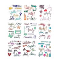 Wholesale-1PCS Umweltfreundlich Transparent Stempel Multicolor Clear Stamp für DIY Scrapbooking Stempel Fotoalbum Tagebuch-Dekoration Supplies