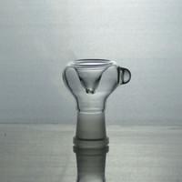 rohrleitungen großhandel-18.8mm Glasbongs, die weibliche Glasschüsselzufuhr der Zusätze für Glaswasserrohre rauchen