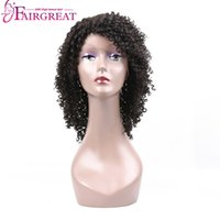 Wholesale Curly Hair Front Lace Price - Brazilian Curly Lace Front Human Hair Wigs For Black Women Brazilian Virgin Hair wigs Natural Black Human Hair Wigs Wholesale price