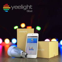 ingrosso telefoni blu android-Yeelight Blue II La più recente originale Xiaomi Yeelight Blue Smart Light Bulb Controllata dal telefono Per supporto iOS e Android Verifica ufficiale