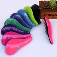 Wholesale Free DHL Hair Brush Combs Magic Detangling Handle Tangle Shower Salon Styling Tamer Tool escova de cabelo pinceis