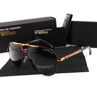 Wholesale high end sunglasses - Wholesale-2016 The new high-end luxury brand men's polarized sunglasses 8755 UV400 chauffeur driving mirror glasses