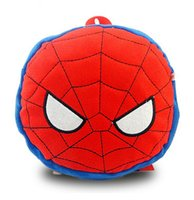 Wholesale Hot sale Hero alliance spider man superhero team USA plush cartoon children backpack bags Children s cartoon backpack
