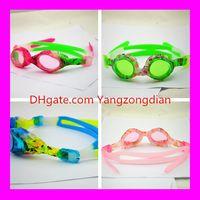Wholesale Kids Glasses Sale - AF-1700s Kids Children Swimming Glasses Goggles Waterproof Anti-fog Uv Protection Silicone Swimming Glasses Hot Sale Swimming Equipment