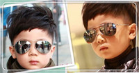 Wholesale Baby Glasses For Boys - Kids Sunglass Children Beach Supplies Sunglasses Childrens Fashion Accessories Sunscreen baby for boys Girls awning kids Glasses