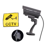 Gefälschte Dummy Kamera Wasserdichte Outdoor Indoor Security CCTV Überwachungskamera Blinkende Rote LED CCTV Sicherheit Simulation Kamera Flash