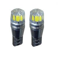 Wholesale Cree Led Reverse - 10PCS T10 501 CANBUS Cree Bulbs LED Xenon White T10 5W Error Free Car Sidelights styling wholesale