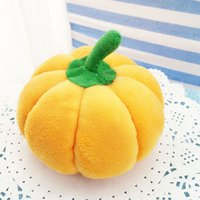 Wholesale great fruits - Wholesale- 13~14 cm Soft Plush Cute cartoon Stuffed Big Pumpkin Toy, Great Gift for Kid and Christmas decoration Best Quality For Promotion