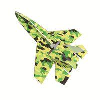 части самолетов оптовых-Совершенно новый Су 27 модель самолета RC часть камуфляжа разрушить стойкие KT пены борту светодиодные реактивные самолеты обвесы дропшиппинг