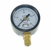 universelle wassersäule großhandel-0-0.4 Mpa Wasser Öl Hydraulische Luftdruckprüfer Universal Gauge M10 * 1 40mm Dia um $ 18no track
