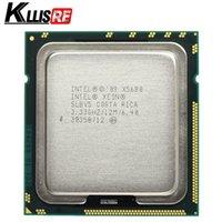 xeon sunucu cpu toptan satış-Intel Xeon X5680 3.33GHz LGA1366 12MB L3 Önbellek Altı Çekirdekli sunucu CPU işlemci