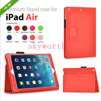 folio de couro ipad venda por atacado-Para pro 10.2 2019 Leather Case ipad Magnetic Folio para iPad 2 3 4 5 6 ipad mini-ar 2 estande
