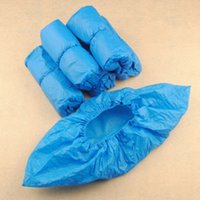 Wholesale Care Cover - Hot Sales 100pcs Elastic Disposable Plastic Protective Shoe Covers Carpet Cleaning Overshoe YT0083 smileseller