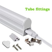 Wholesale Wholesale T5 Lights - 1ft 6W 2ft 3ft T5 Led Tube Lights 4ft 22W LED Tubes SMD 2835 LED Fluorescent Light Tubes Warm Natrual Cool White AC85-265V