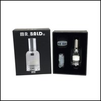 Wholesale Bake Glass - Hot selling Mr Bald II dry herb baking vaporizer with ceramic heating coil 4 seconds heating DHL free