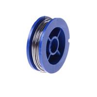 Wholesale rosin core wire - Welding Iron Wire Reel Tin Lead Line Rosin Core Solder Soldering Wire Wholesale 2 Roll set 0.7mm 63 37