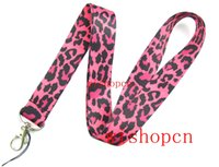 Patrón Popular leopardo mayorista Cordones Llaveros ID Badge Holder u16