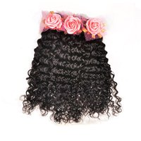 Bouncy e Lustrous Kinky Curly Indian Virgin Hair Weaving Bundles, 10-30 '' Unprocessed Indian Remy Deep Curly Extensão da Trama de Cabelo Humano Ondulado