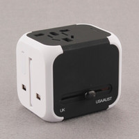 Wholesale Uk Ac Plug Type - Portable Mili Dolphin 5V 2400mah Type AC Home Travel Charger Adapter Mini USB Dual Port EU US Plug Wall Charger For iPhone