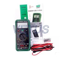 Wholesale Cheap Digital Multimeter - types of digital multimeter DY2101 cheap Input fuse protection Heavy duty rubber holster competitive price C