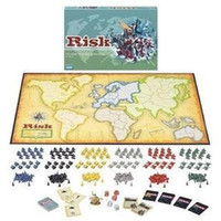 Wholesale English Learning Toy - Free shipping worldwide Board Games RISK big battle in English Suitable for adults aged over and play board games