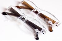 Wholesale read design - Wholesale-Fashion Plastic Reading Glasses, TR90 Mini Rimless Presbyopic Pocket Reader, Design Optics Reading Glasses for Men & Women