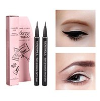 Wholesale pencil products - Professional Women Makeup Product Waterproof Brown 7 Days Eye Brow Eyebrow Tattoo Pen Liner Long Lasting Makeup