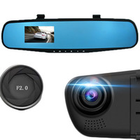 ingrosso lo specchio di retrovisione del radar ha condotto il display-Car-styling Car DVR 2.8 '' 1080 P HD Dash Cam Videoregistratore Specchietto retrovisore Veicolo DVR Dashcam Tachigrafo Videoregistratore