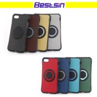 Wholesale free clip x - New arrival 2 in 1 Kickstand Phone case with Ring for Iphone 8 High Quality phone case for Iphone 7 x free shipping