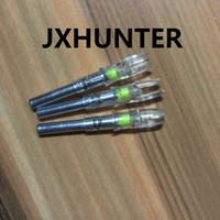 Wholesale Led Bow Lights - 3PK yellow color automatic X 5.3 archery hunting lighted led light arrow nocks for ID 5.3mm arrows