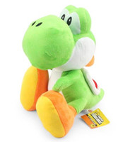 Wholesale game classical inch Super Mario Bros Yoshi Plush Doll Toy With Tag Soft Yoshi Doll Kid s Gift cm