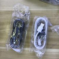 alto-falantes flat headphone venda por atacado-100% Original 1.5m Micro USB Fast Charger Cable Spring Data Sync fast Charging for Samsung Note 4 5 S6 S7 Edge