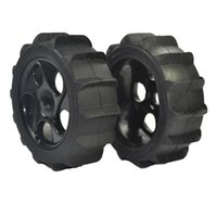 Wholesale Rc Buggy Wheels - RC 1 8 Scale RC Off Road Buggy Snow Sand Paddle Tires Tyre and Wheels 4pcs